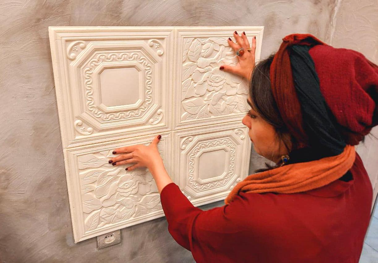 پوشش دیواری تزئینی دکووال